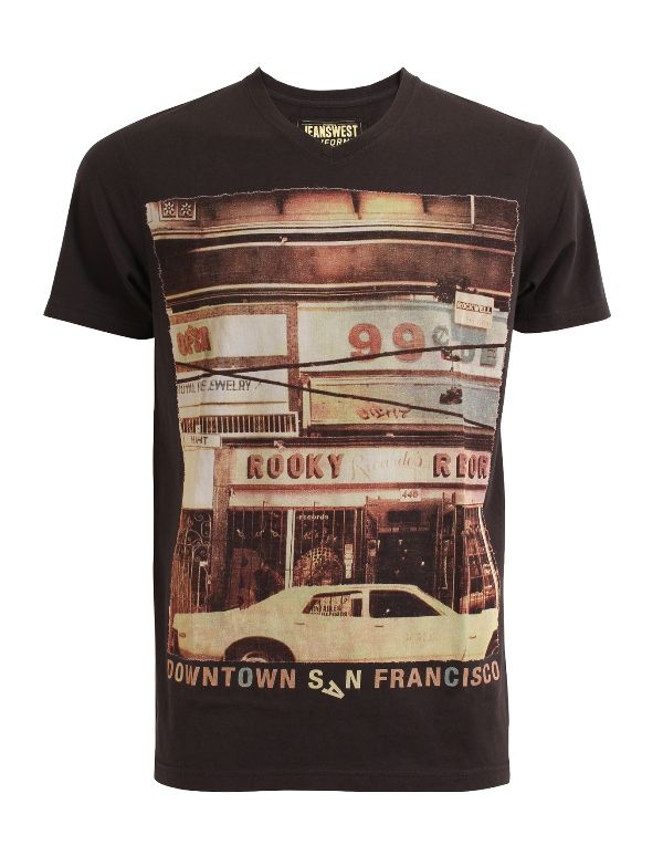 Belmont V Neck Tee from Jeanswest