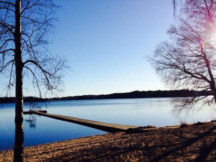 Lake Kyrösjärvi, Ikaalinen, Finland