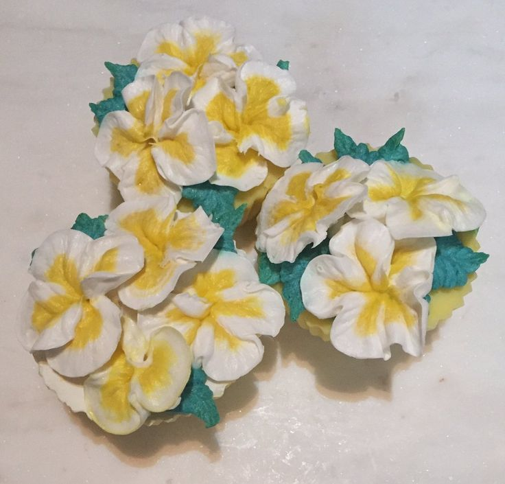 Frangipanni cup cake CP soaps