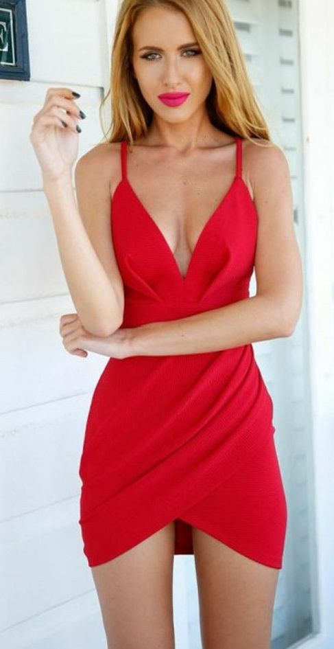 17 best ideas about Little Red Dress on Pinterest | Red romper ...