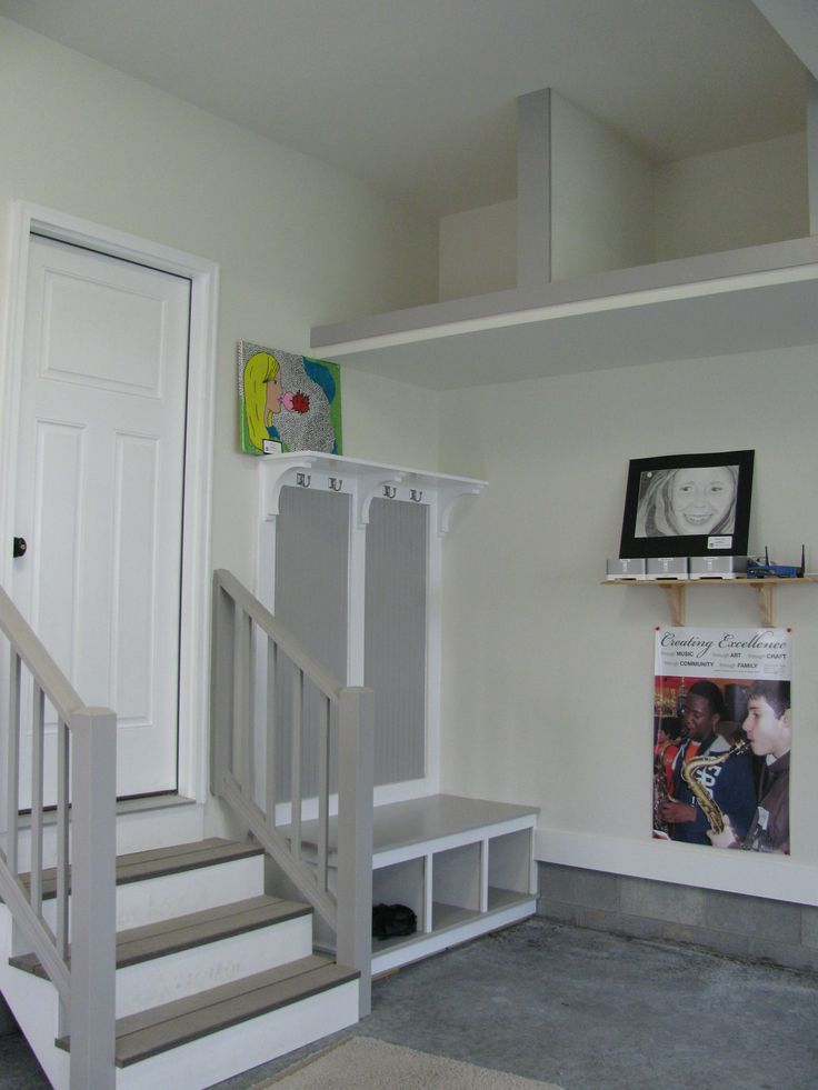 Best 25 garage stairs ideas that you will like on pinterest for Dream of painting a room white