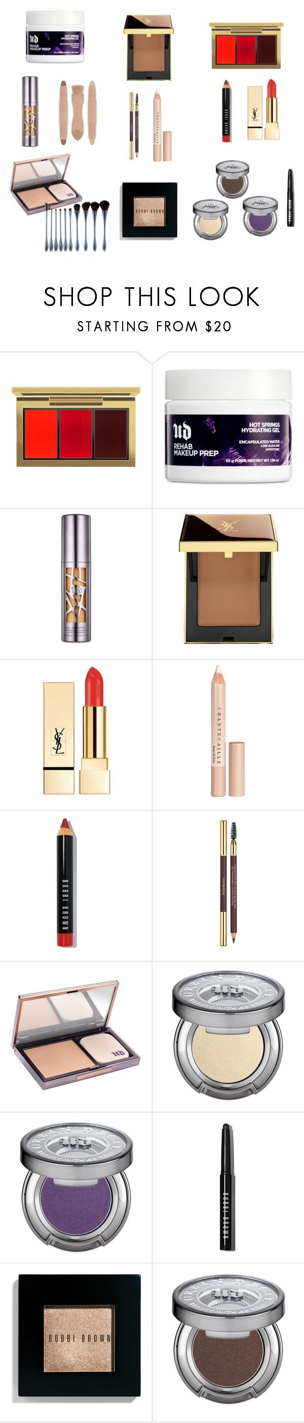 """""""My Formal Makeup Look"""" by pretty1npink on Polyvore featuring beauty, MAC Cosmetics, Urban Decay, Yves Saint Laurent, Chantecaille, Bobbi Brown Cosmetics and My Makeup Brush Set"""