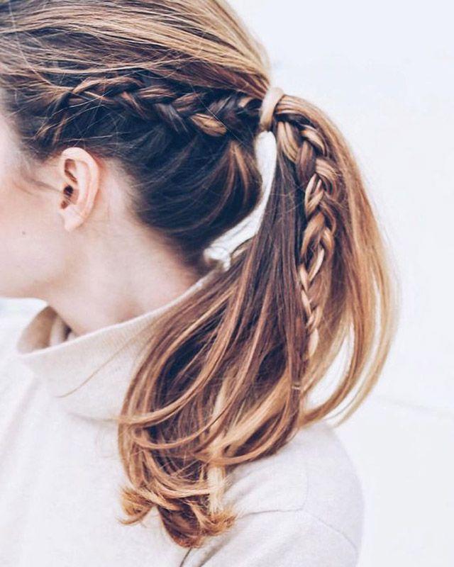 50 coiffures simples et rapides à faire après le sport | Glamour