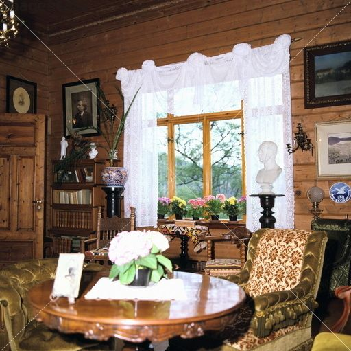 Greig's Home, Troldhaugen, Bergen, Norway. Interior Of The