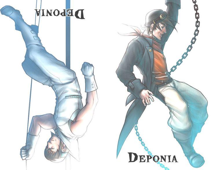 Deponia Wallpaper by Angelus-Tenebrae on DeviantArt