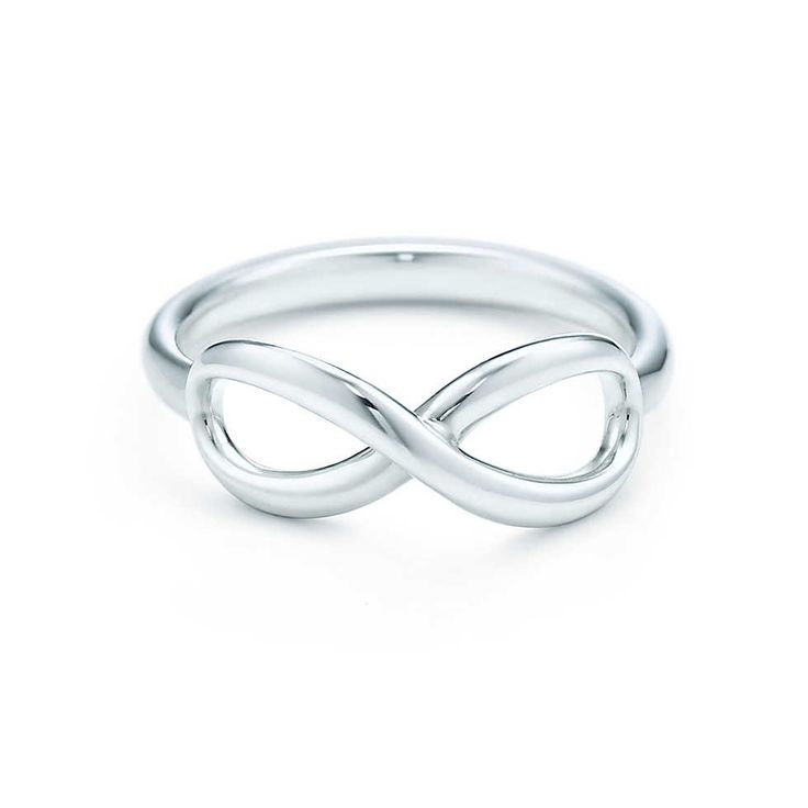 Tiffany Infinity ring in sterling silver. | Tiffany & Co. A sign of our enduring love for each each other.