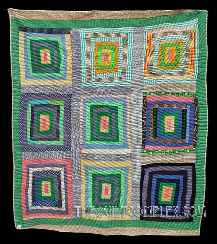 Lurecea Outland Alabama 1988 76 x 88 inches Cottons, cotton blends, double knits McPherson Collection