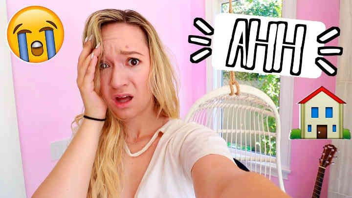 Alisha Marie - Huge Disaster!! Painting My House Pink!! Ahh so this was a huge disaster. The pink is PEPTO BISMOL PINK!! I swear on camera it looks SO...