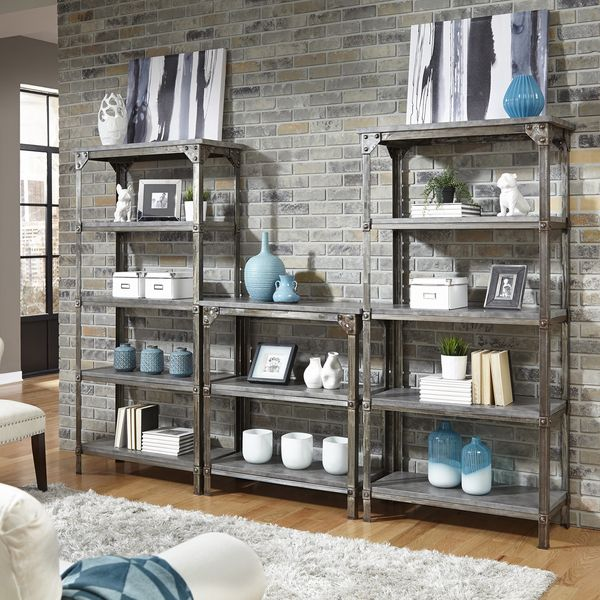Superb Strength Meets Beauty In This Urban Industrial Design. The Urban Style  Storage Shelf By Home Styles Displays Unrefined Beauty In The Midst Of Aged  Metal ... Great Pictures