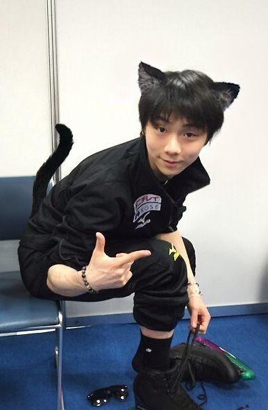 This is unbelievably adorable Yuzuru HANYU 羽生結弦