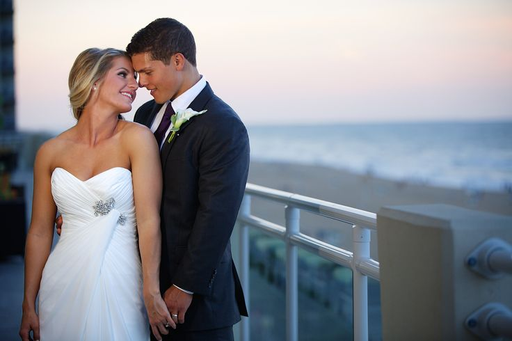 Hilton Garden Inn Virginia Beach Oceanfront wedding. Photography from Justin Hankins