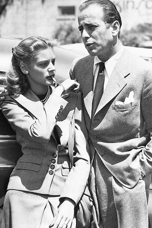 """"""" Humphrey Bogart was buried with a small, gold whistle once part of a charm bracelet he had given to Lauren Bacall before they married. It was inscribed with a quote from their first movie together:..."""