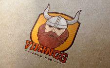 create vintage badge mascot