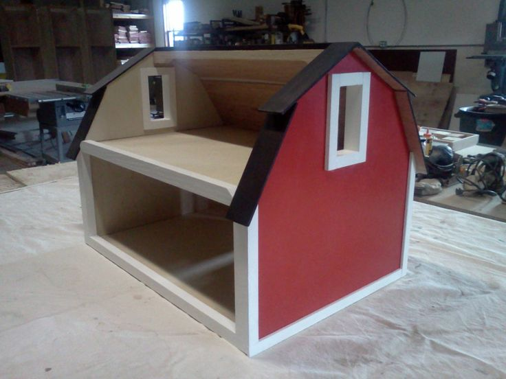 toy wooden barn - Google Search