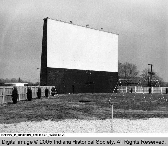 East Side Drive-In Theater, Terre Haute, Indiana 1956