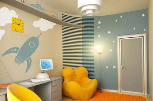 Blast off!: Kids Room Design, Kids Rooms Design, For Kids, Room Ideas, Kid Rooms, Ceiling Ideas, Ceilings Ideas, Bedrooms Ideas