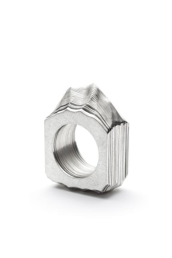 Ring Monsieur by Justine B. Gagnon of Eccole de Joaillerie de Montreal…