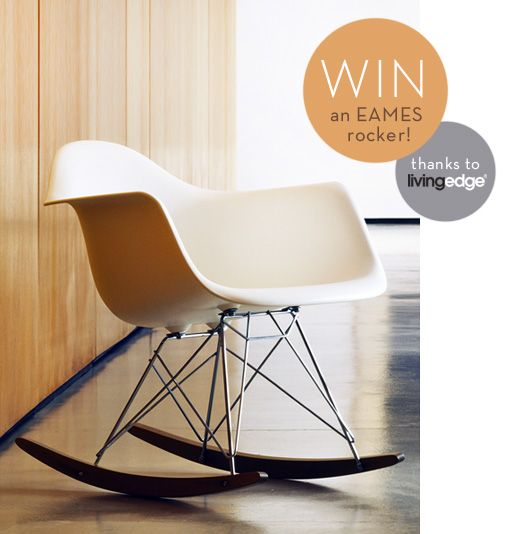 Win an Eames rocker plus tickets to Eames: the architect and the painter with The Design Files!: Eames Rockers, Design File