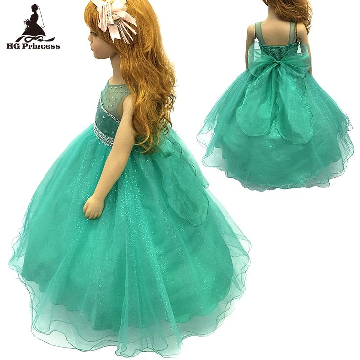 Подкладка хлопка 2-12 Лет Девушка Платье 2016 Новый Тюль цветок Девочки Платья Камень Королевский Синий дети вечернее Платье С Суеты #men, #hats, #watches, #belts, #fashion, #style