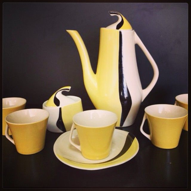 #polnd #porcelain #chodzież #coffeset #art #handpainted #vintage #old #design #decor #polskinewlook