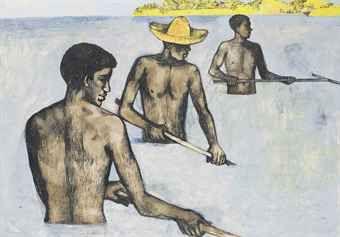 Raking Seaweed John Minton