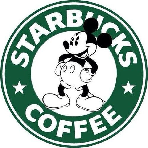 Starbucks AT Disney!!  Whoo hoo!!!  It's about time!!!   Really.
