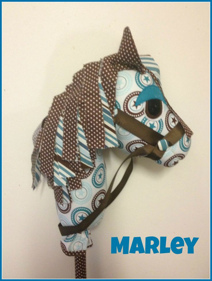 how to make a hobby horse head pattern