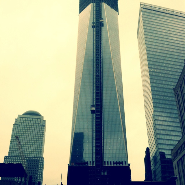 The freedom tower NYC