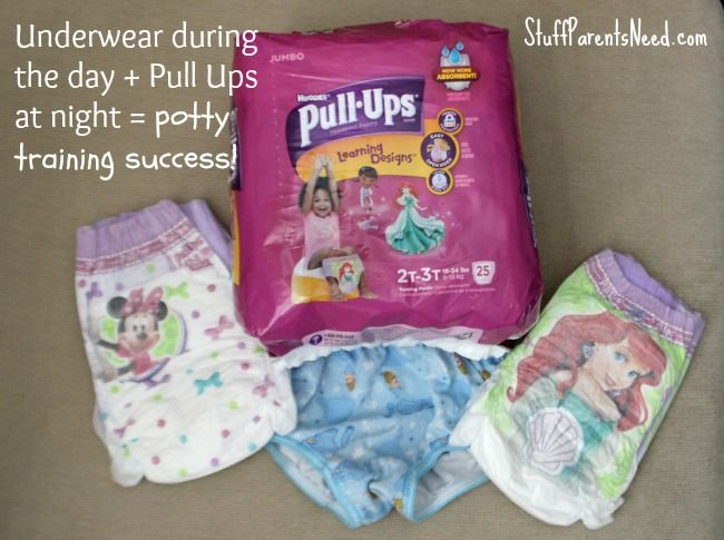 One Simple Change Made the Difference: How We Successfully Potty Trained with Pull-Ups®