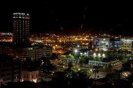 Město, Las Palmas, Noc, Místo, Světla