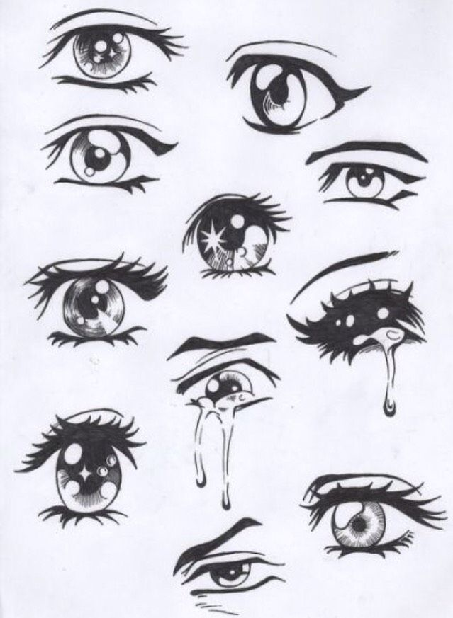 How To Draw A Realistic Eye Drawings Easy Anime Eyes Anime Drawings