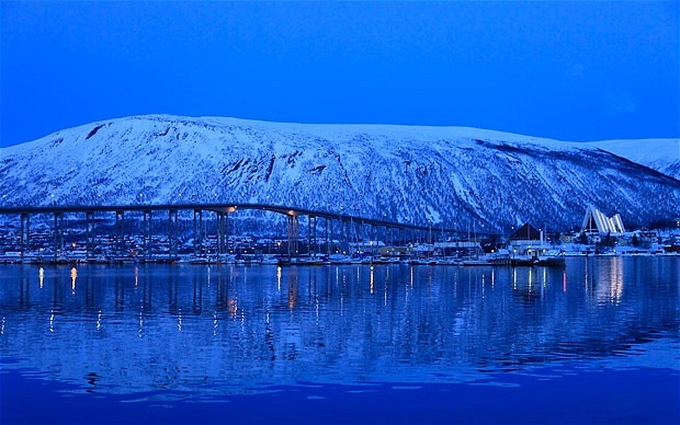 Tromso Blue.  Tromso, Norway.