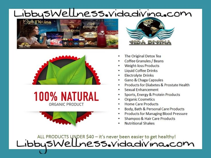 Free to join for a limited time:  #vidadivina #libbyswellness