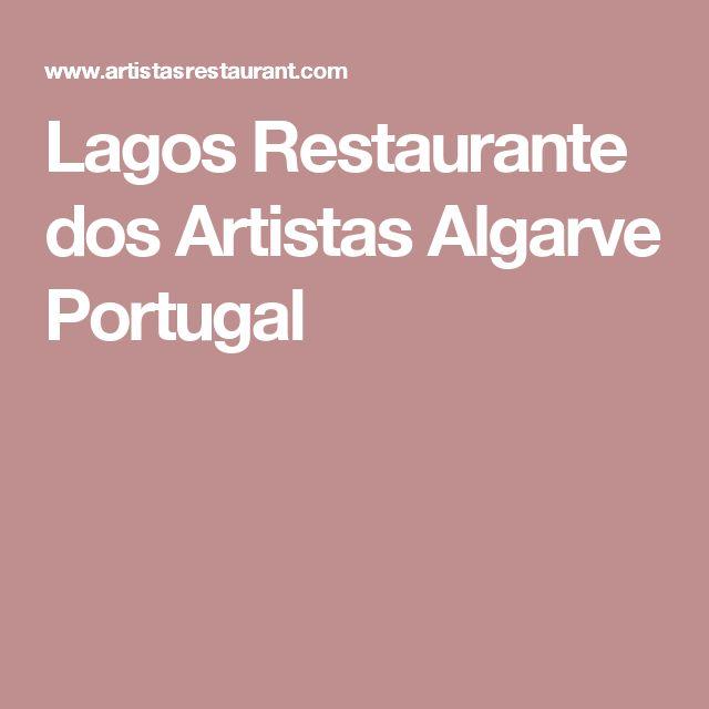 Lagos Restaurante dos Artistas Algarve Portugal