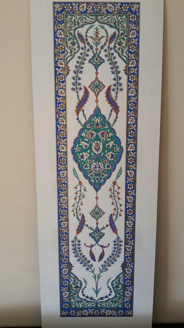 Süleymaniye Camii çini panosu
