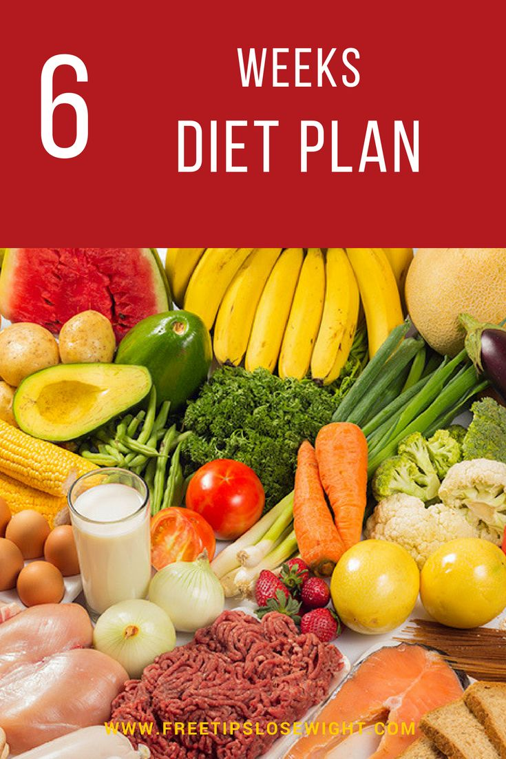 Add this diet plan to your weight loss program and start to see results in 6 weeks. You can download full diet plan for free!
