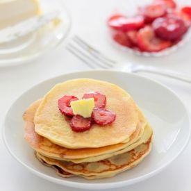 Pancakes (Single Serving) yummy single serving of old fashion pancakes ...