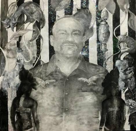 Bradley bO'Brien, Study-Andy Rantzen-the Art Groupie Set on ArtStack #bradley-bo-brien #art