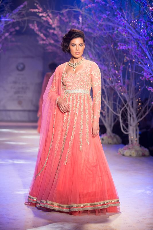 Anarkali by Jyotsna Tiwari at India Bridal Fashion Week 2014