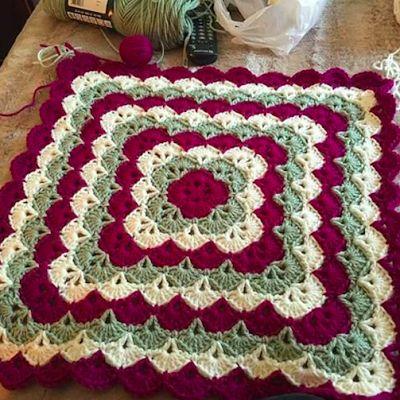 ❯ Beautiful Shells Baby Blankets - Free Patterns ~ ✁ C K Crafts