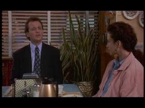 """Bill Murray - Best scenes from the movie """"Groundhog Day"""""""