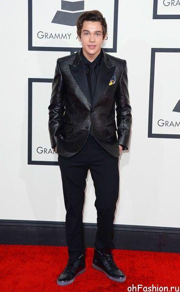 Остин Махоун на церемонии Grammy Awards 2014