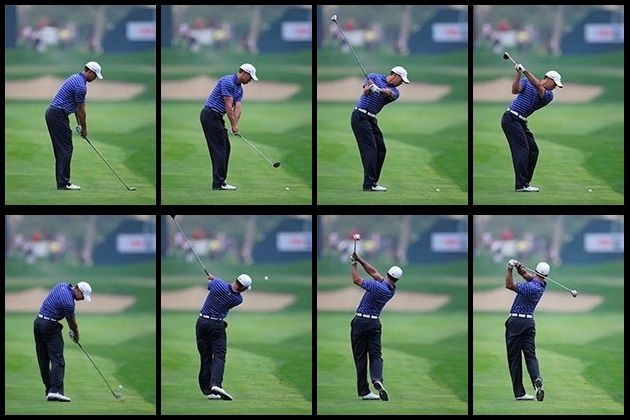 Down the Line   Golf swing sequence, Golf swing, Golf