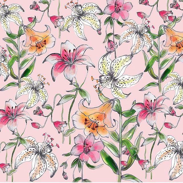 Lily Flower Garden