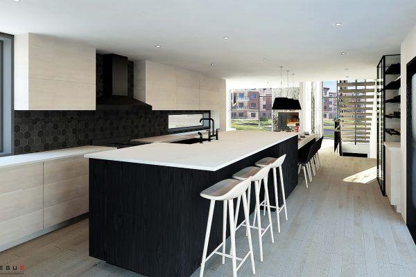 Plan de Maison Moderne Ë_147 Leguë Architecture Prochaine maison - Photos De Maison Moderne