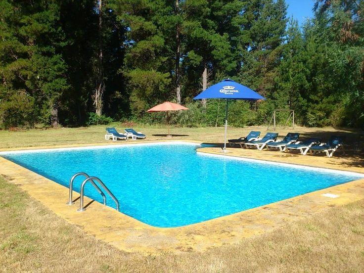 arriendo casa pucón 12personas piscina jardines bosque 2ha