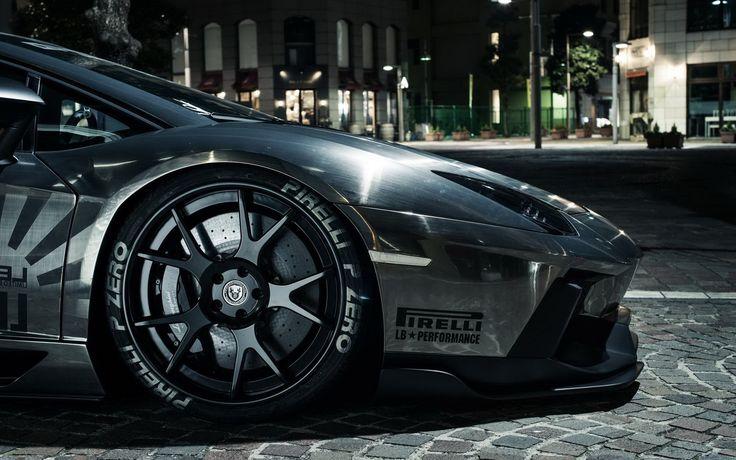 lamborghini aventador pirelli tyres HD Wallpaper