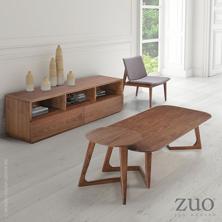 Park West Coffee Table Walnut. Modern ClassicClean ...