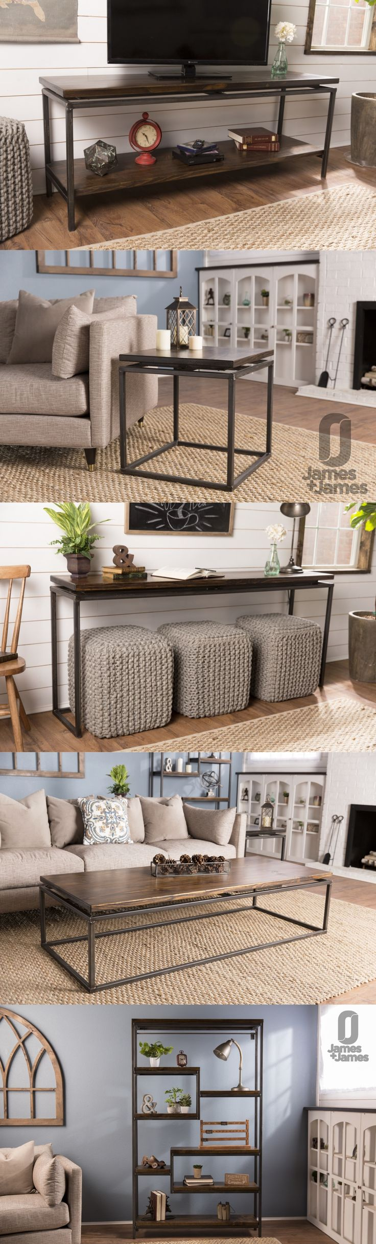 Solid wood furniture, built to order in the USA   living room, coffee table, side table, end table, nightstand, sofa table, console table, entryway table, hallway table, media stand, tv stand, media console, tv console, bookshelf, bookcase