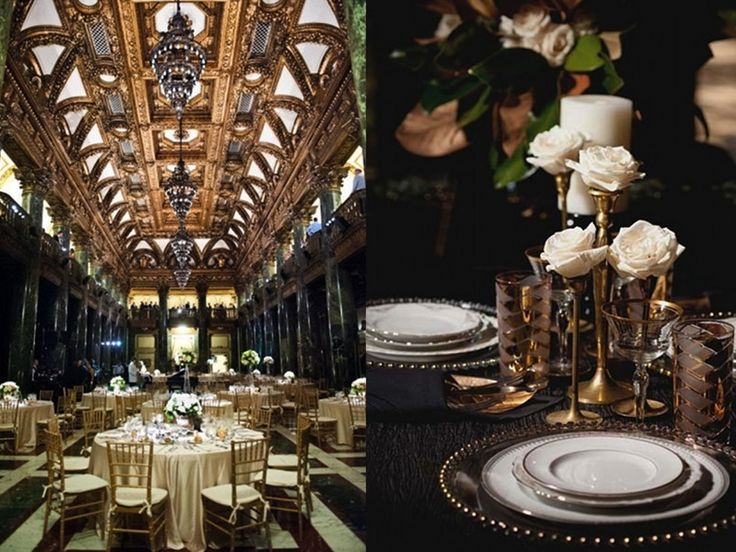 great gatsby table decor | Wedding Planning Archives « Diamond Jewelry and Engagement Ring News